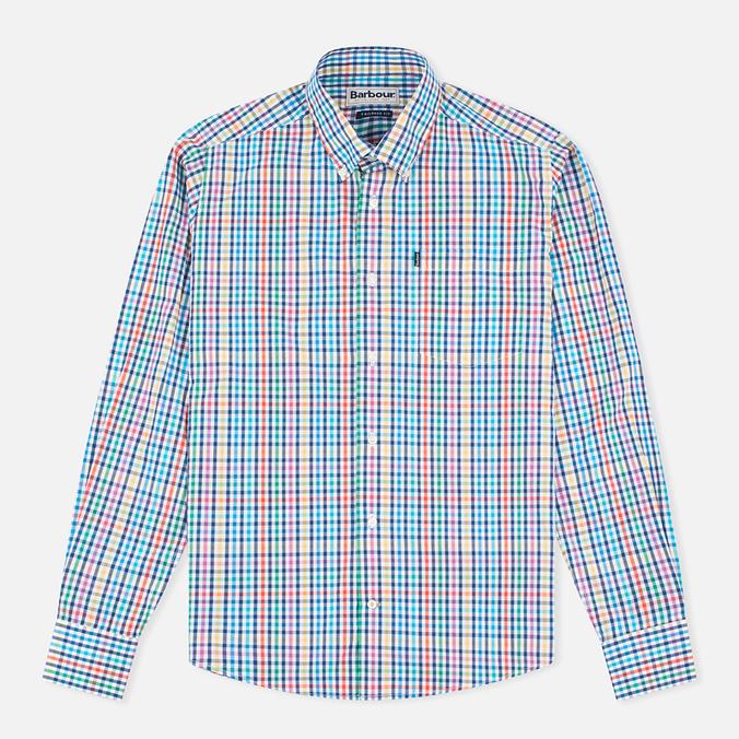 Мужская рубашка Barbour Terence Aqua