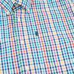 Мужская рубашка Barbour Terence Aqua фото- 2