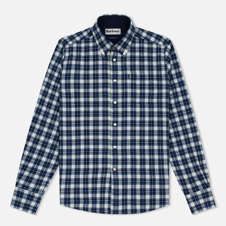 Barbour Theo Men's Shirt Indigo