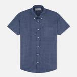 Мужская рубашка Barbour Theo SS Navy фото- 0