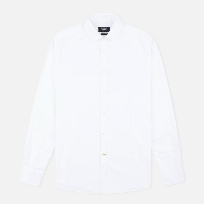 Мужская рубашка Barbour x Land Rover Explorer White