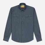 Мужская рубашка Barbour x Steve McQueen Drift Indigo фото- 0