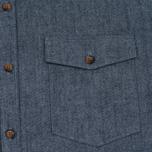 Мужская рубашка Barbour x Steve McQueen Drift Indigo фото- 2