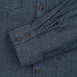 Мужская рубашка Barbour x Steve McQueen Drift Indigo фото- 3
