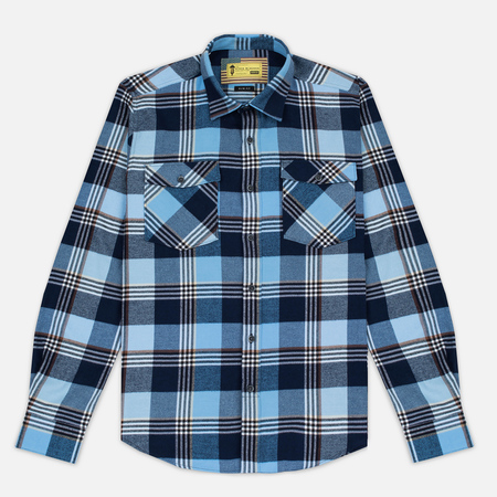 Мужская рубашка Barbour x Steve McQueen Guard Blue