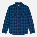 Мужская рубашка Barbour x Steve McQueen Nitro Navy фото- 0