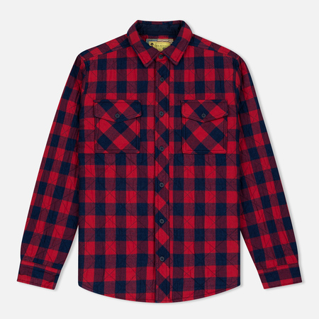 Barbour x Steve McQueen Nitro Men's Shirt Rich Red