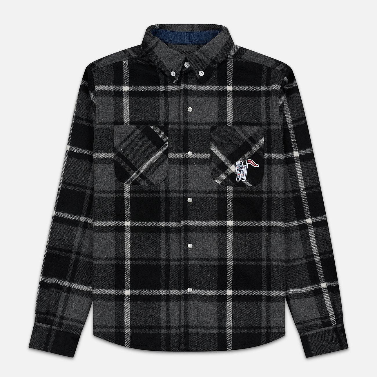 Мужская рубашка Billionaire Boys Club Heavy Check Black