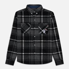 Мужская рубашка Billionaire Boys Club Heavy Check Black фото- 0