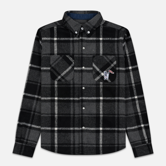 Мужская рубашка Billionaire Boys Club Heavy Check Black