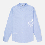 Мужская рубашка Billionaire Boys Club Mantra Oxford Sky Blue фото- 0