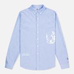 Мужская рубашка Billionaire Boys Club Mantra Oxford Sky Blue фото- 0