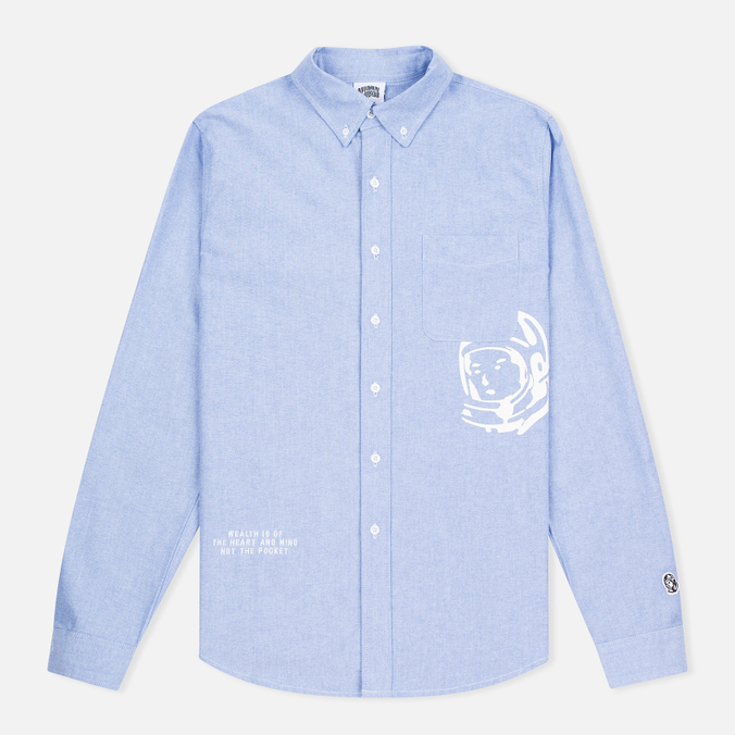 Мужская рубашка Billionaire Boys Club Mantra Oxford Sky Blue
