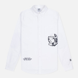 Мужская рубашка Billionaire Boys Club Mantra Oxford White фото- 0
