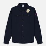 Мужская рубашка Billionaire Boys Club Nose Art Embroidered Navy фото- 0