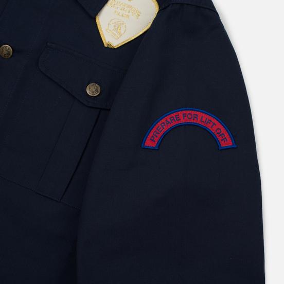 Мужская рубашка Billionaire Boys Club Nose Art Embroidered Navy