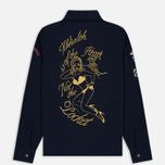 Мужская рубашка Billionaire Boys Club Nose Art Embroidered Navy фото- 6