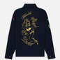 Мужская рубашка Billionaire Boys Club Nose Art Embroidered Navy фото - 6