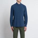 Мужская рубашка Bleu De Paname Chemise Bureau Blue Paname фото- 5