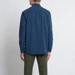Мужская рубашка Bleu De Paname Chemise Bureau Blue Paname фото- 6