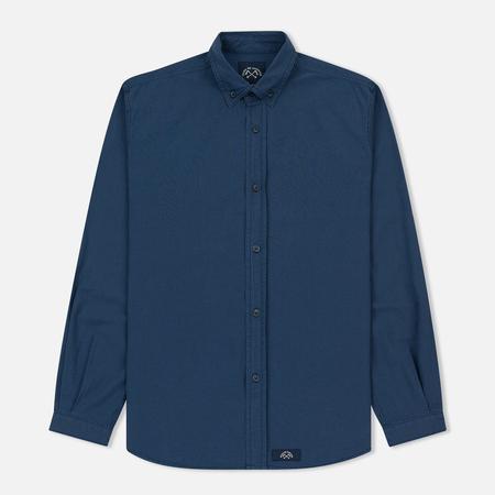 Мужская рубашка Bleu De Paname Chemise Bureau Blue Paname