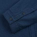 Мужская рубашка Bleu De Paname Chemise Bureau Blue Paname фото- 2