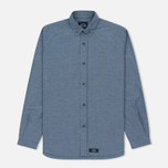 Мужская рубашка Bleu De Paname Chemise Bureau Chambray Blue фото- 0