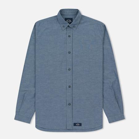 Мужская рубашка Bleu De Paname Chemise Bureau Chambray Blue