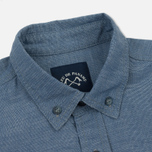 Мужская рубашка Bleu De Paname Chemise Bureau Chambray Blue фото- 1