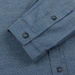 Мужская рубашка Bleu De Paname Chemise Bureau Chambray Blue фото- 2