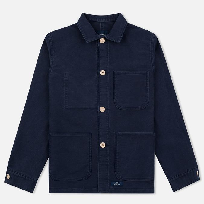 Мужская куртка Bleu De Paname Comptoir Moleskine Blue