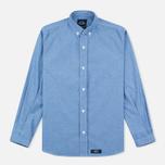Мужская рубашка Bleu De Paname Oxford Office Sky Blue фото- 0