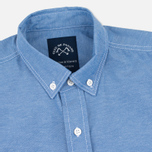 Мужская рубашка Bleu De Paname Oxford Office Sky Blue фото- 1