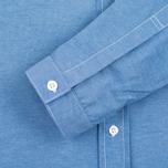 Мужская рубашка Bleu De Paname Oxford Office Sky Blue фото- 2