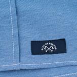 Мужская рубашка Bleu De Paname Oxford Office Sky Blue фото- 3