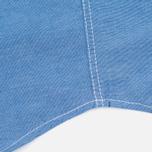 Мужская рубашка Bleu De Paname Oxford Office Sky Blue фото- 4