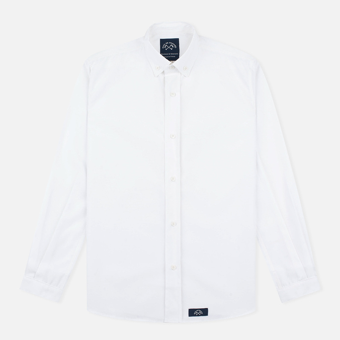 Мужская рубашка Bleu De Paname Oxford Office White