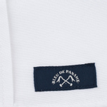 Мужская рубашка Bleu De Paname Oxford Office White фото- 3