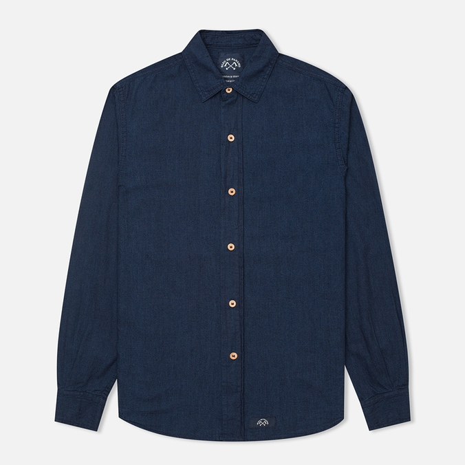 Мужская рубашка Bleu De Paname Standart Indigo