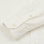 Мужская рубашка Blue Blue Japan J3433 Cotton Oxford White фото- 3