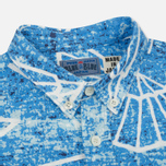 Мужская рубашка Blue Blue Japan J5467 Folding Fun Printed Blue фото- 1