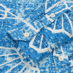Мужская рубашка Blue Blue Japan J5467 Folding Fun Printed Blue фото- 3