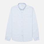 Мужская рубашка Boneville Button Down W/Chest Pocket Snorkel Blue фото- 0