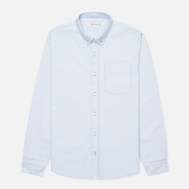Мужская рубашка Boneville Button Down W/Chest Pocket Snorkel Blue