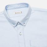 Мужская рубашка Boneville Button Down W/Chest Pocket Snorkel Blue фото- 1