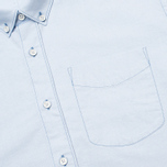 Мужская рубашка Boneville Button Down W/Chest Pocket Snorkel Blue фото- 2