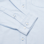 Мужская рубашка Boneville Button Down W/Chest Pocket Snorkel Blue фото- 4