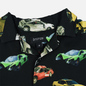 Мужская рубашка Bronze 56K Wrecked Cars Button Up Black фото - 1