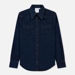 Мужская рубашка Calvin Klein Jeans Est. 1978 Western Denim Panel Rinse Indigo фото- 0