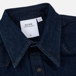 Мужская рубашка Calvin Klein Jeans Est. 1978 Western Denim Panel Rinse Indigo фото- 1